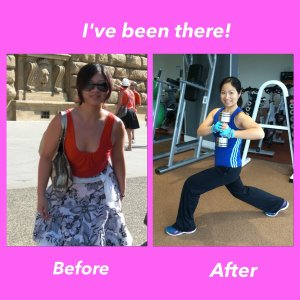 Winnie Fitness Leatherhead body transformation before after