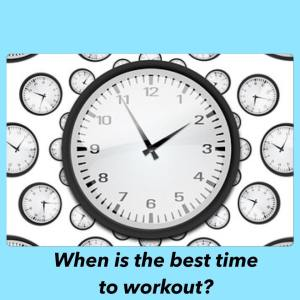 Best time workout