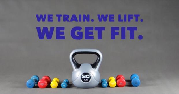 we train we lift we get fit