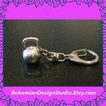 kettlebell keychain